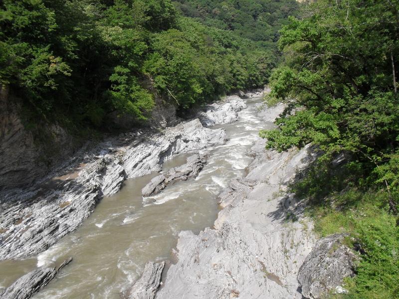 Пути горные реки и водопады адыгеи